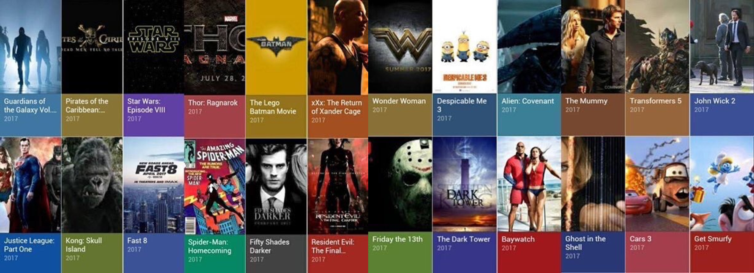 Upcoming Sequels Reboots In 2017