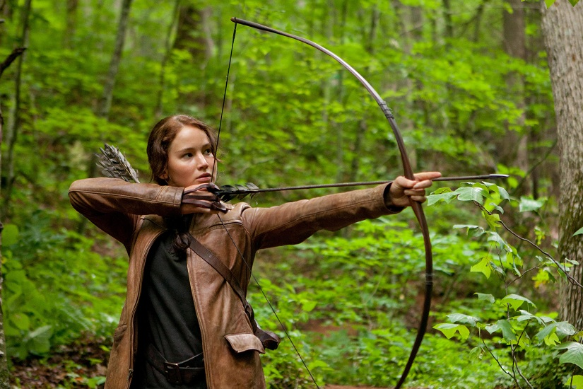 The Hunger Games Action